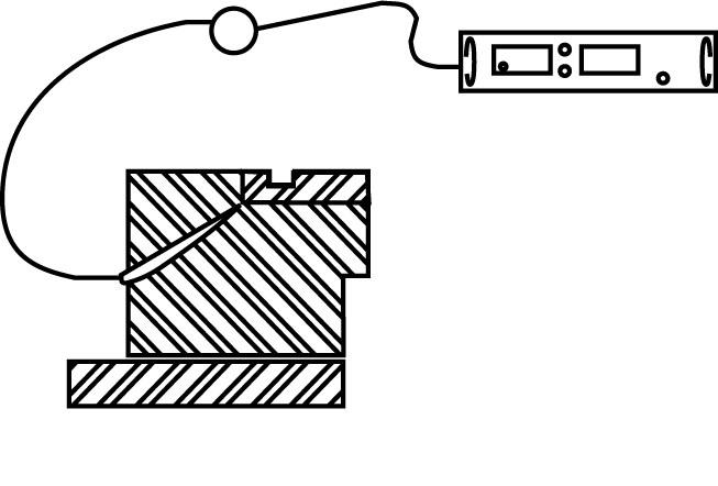 光ファイバー赤外線放射温度計